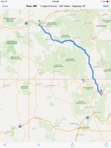 Taos to Grand Junction