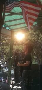 Lukas Nelson Memorial Day 2014 Topanga