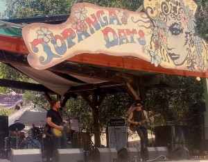 POTR on stage at Topanga Days