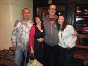 Zack, me, Daryl, Annette at El Adobe in SJC 5/24/14