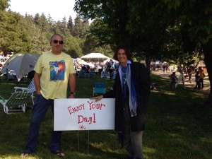 My guys: zack and nick at The Redwood Mountain Faire, Santa Cruz