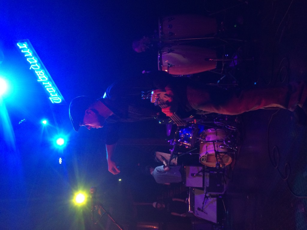 Corey McCormick on the Bass
