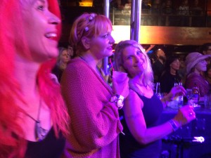 Erica Ashley and Martha enjoying the show